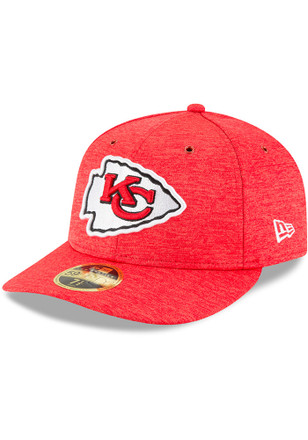 7bb2e346a Kansas City Chiefs New Era Red NFL18 Official Sideline Home LP59FIFTY Fitted  Hat