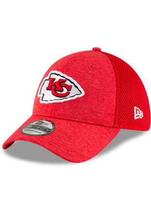 new styles 3d225 6d653 New Era Kansas City Chiefs Red Shadow Front Neo 39THIRTY Flex Hat
