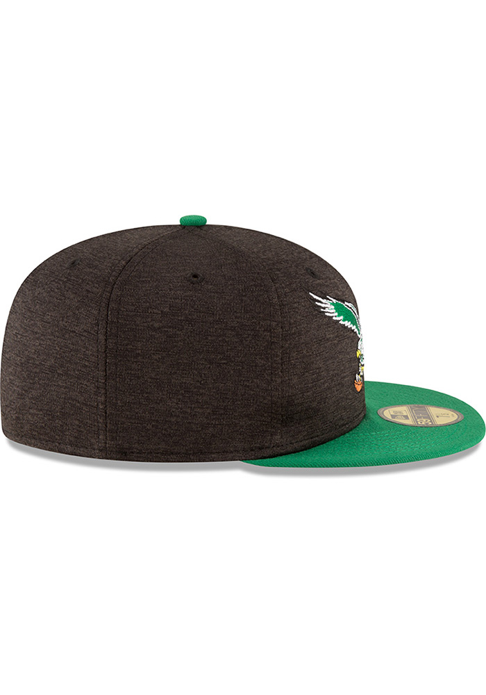 wholesale dealer 769a2 6e3fa New Era Philadelphia Eagles Mens Red Retro Heather Huge 59FIFTY Fitted Hat  - Image 6