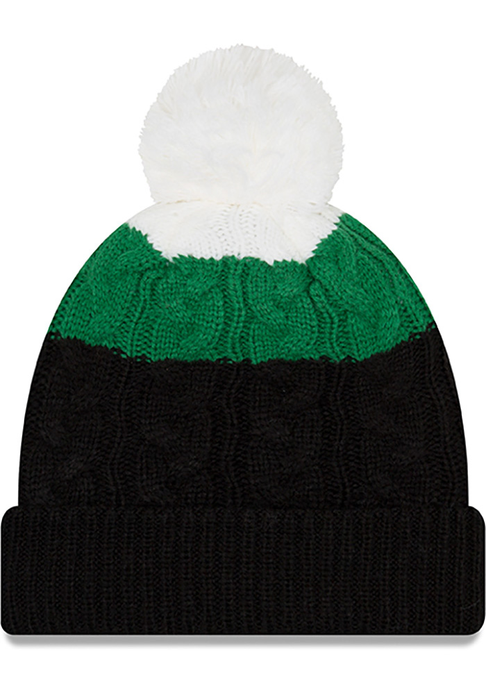 New Era Philadelphia Eagles Red Retro layered Up 2 Womens Knit Hat - Image 2