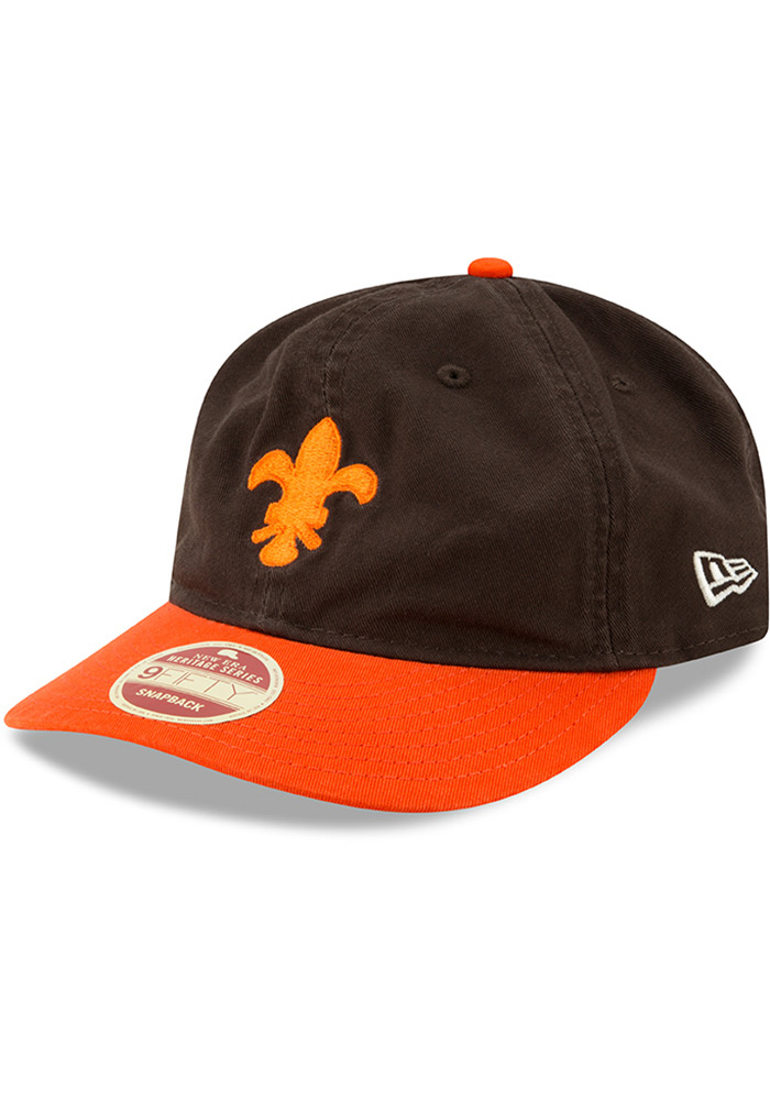 New Era St Louis Browns Brown 2Toned Team Retro 9FIFTY Mens Snapback Hat - Image 1
