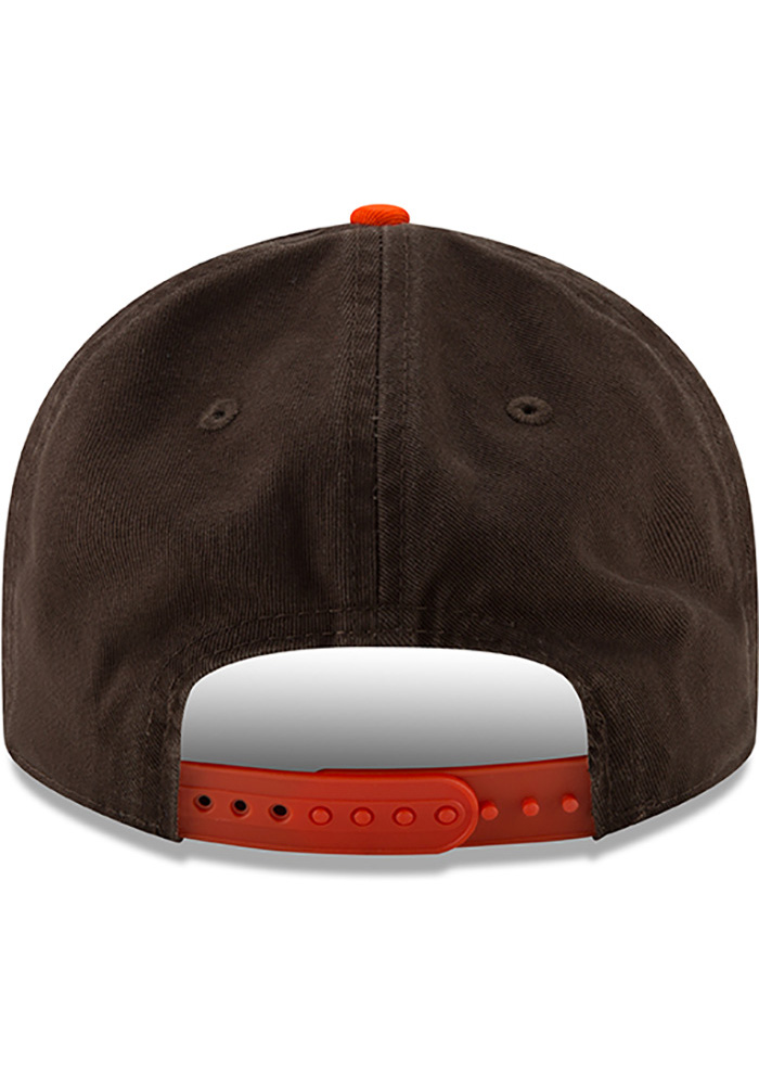 New Era St Louis Browns Brown 2Toned Team Retro 9FIFTY Mens Snapback Hat - Image 5