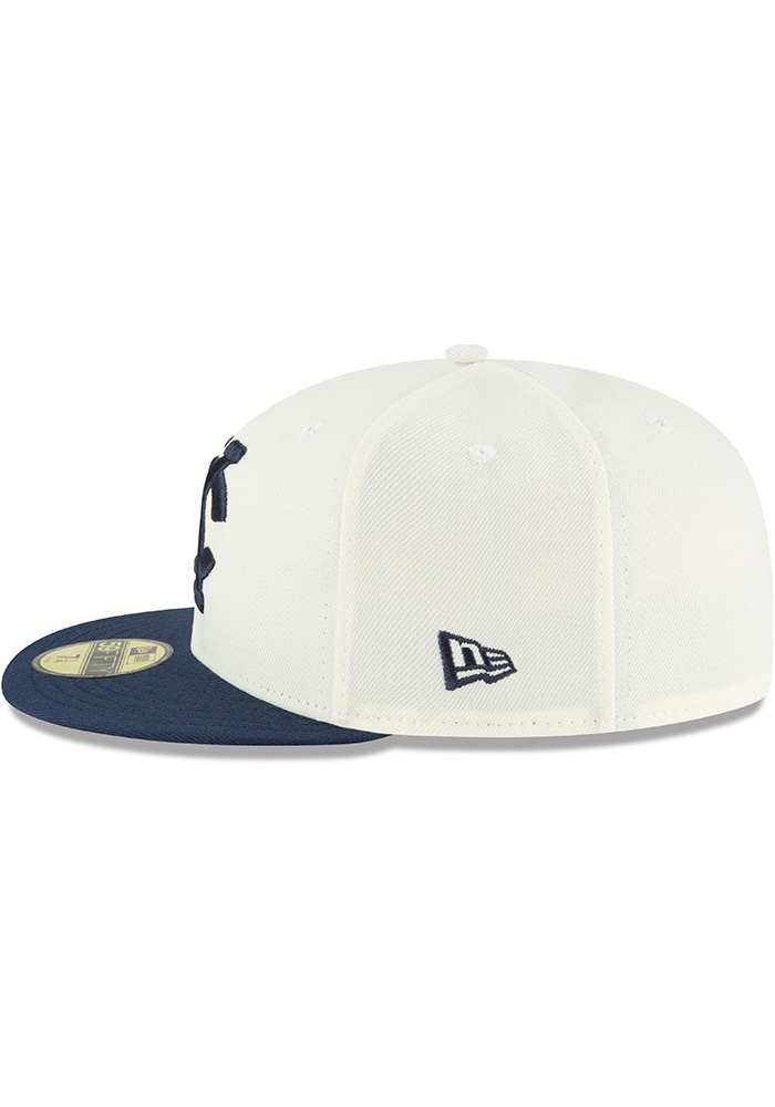 New Era Kansas City Monarchs Mens White 2018 AC 59FIFTY Fitted Hat - Image 4
