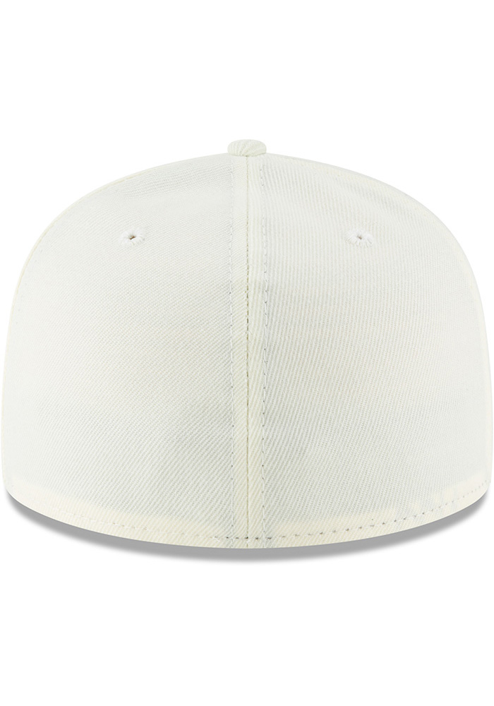 New Era Kansas City Monarchs Mens White 2018 AC 59FIFTY Fitted Hat - Image 5