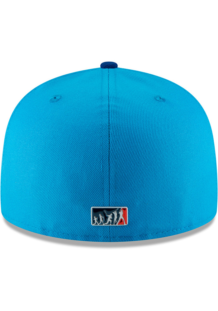 New Era Kansas City Royals Mens Blue 18 Players Weekend 59FIFTY Fitted Hat - Image 5