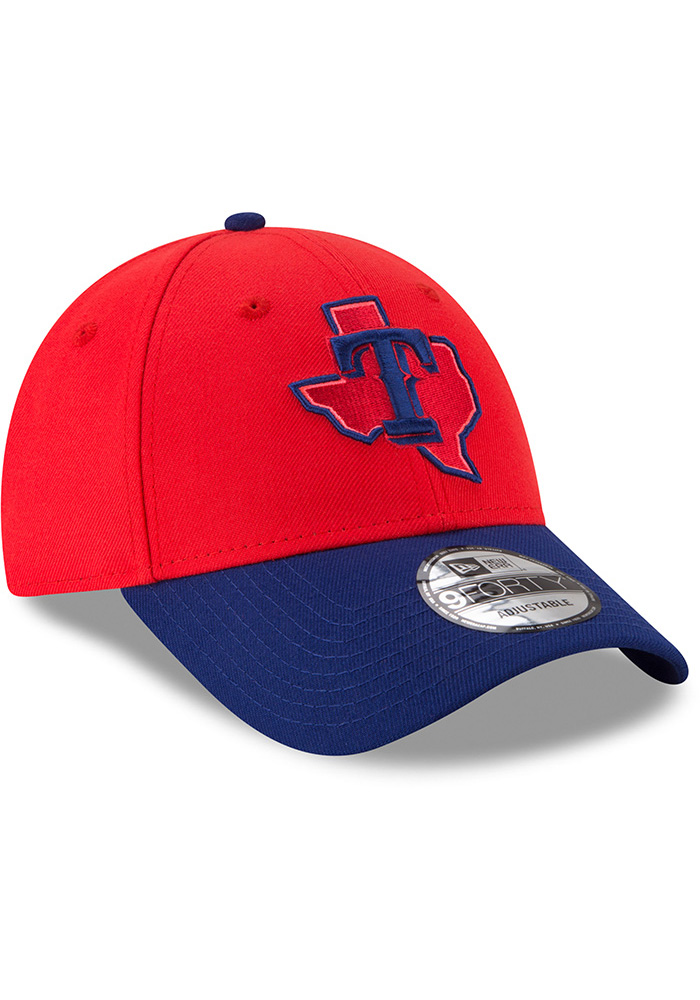 New Era Texas Rangers 18 Players Weekend 9FORTY Adjustable Hat - Red - Image 2