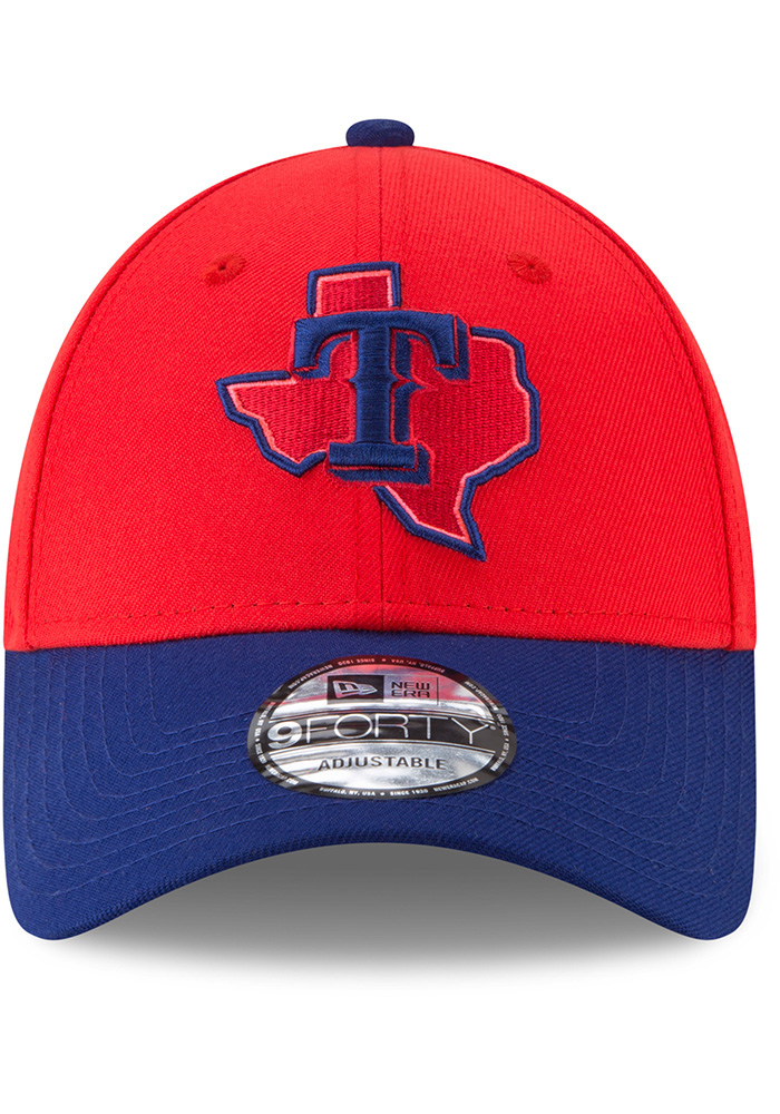 New Era Texas Rangers 18 Players Weekend 9FORTY Adjustable Hat - Red - Image 3
