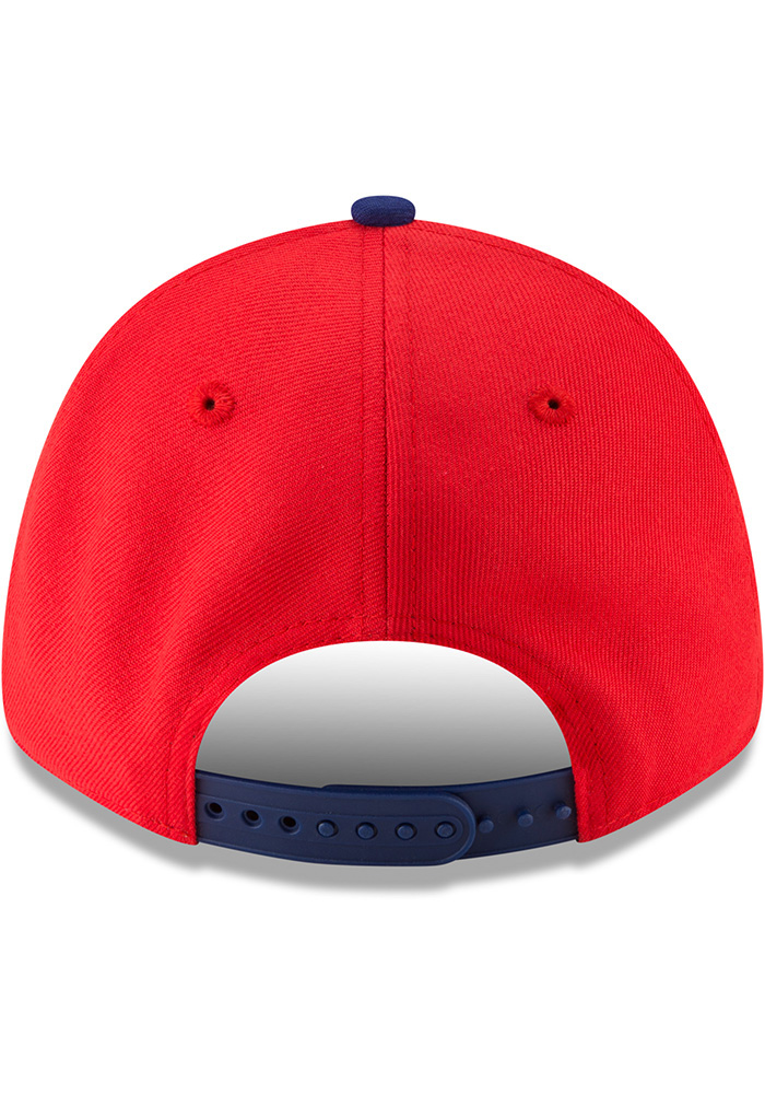 New Era Texas Rangers 18 Players Weekend 9FORTY Adjustable Hat - Red - Image 5