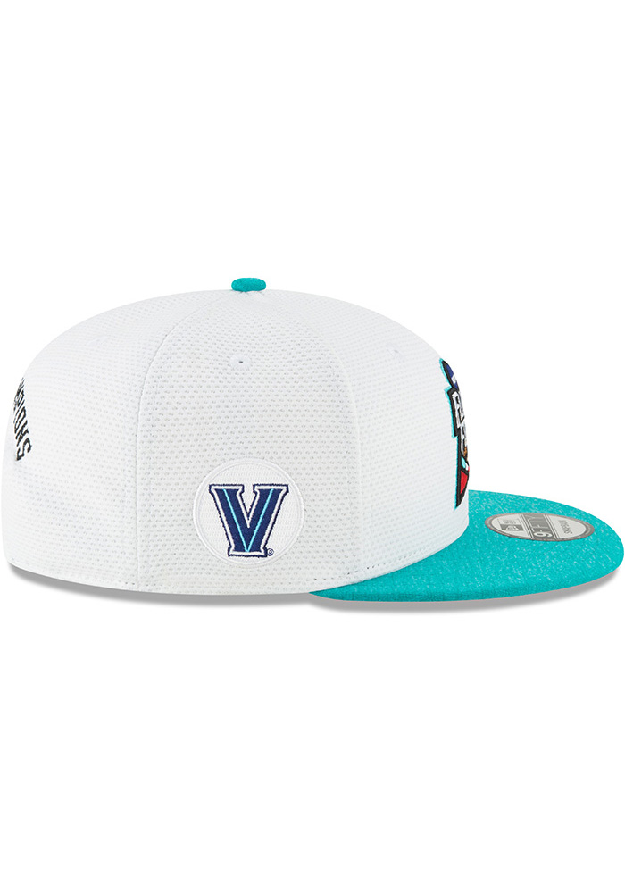 New Era Villanova Wildcats White 2018 F4 9FIFTY Mens Snapback Hat - Image 6