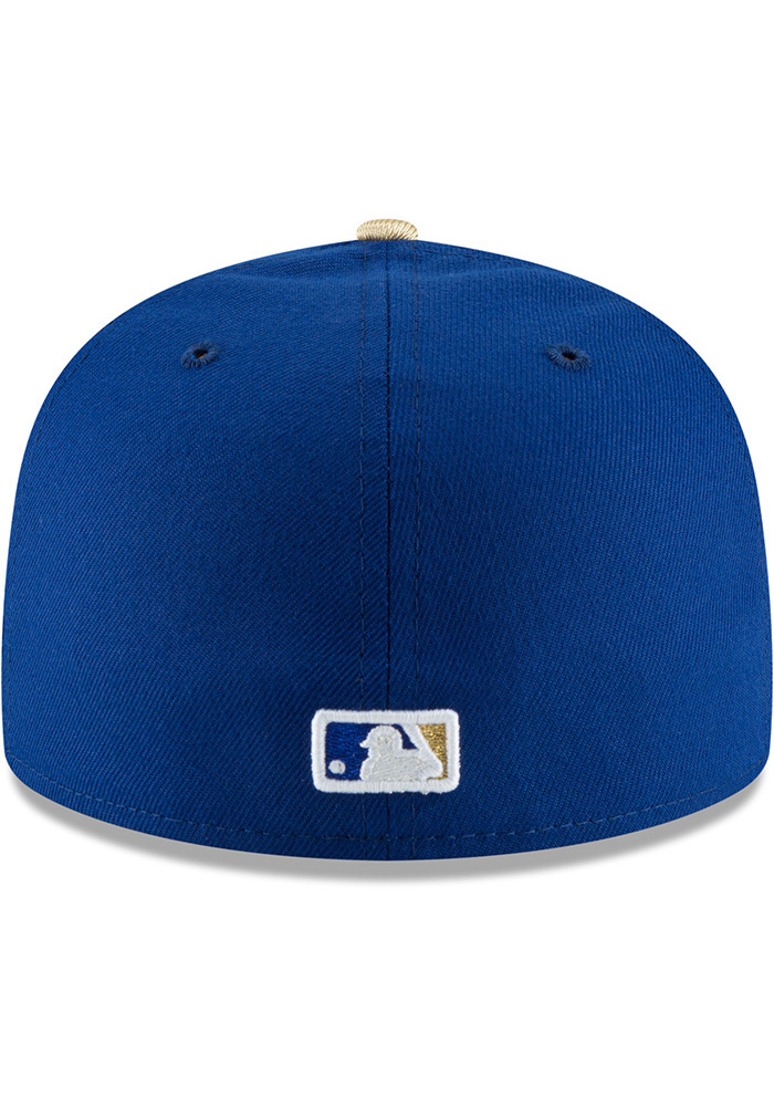 New Era Kansas City Royals Mens Blue Turn Ahead the Clock AC 59FIFTY Fitted Hat - Image 5