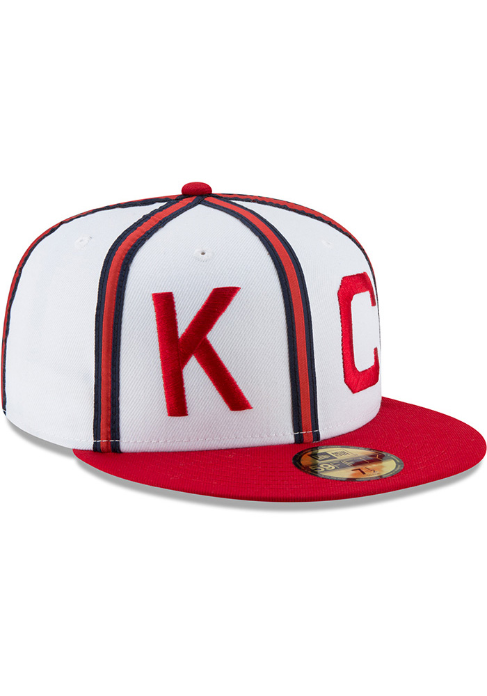 New Era Kansas City Monarchs Mens White Sandlot 59FIFTY Fitted Hat - Image 2