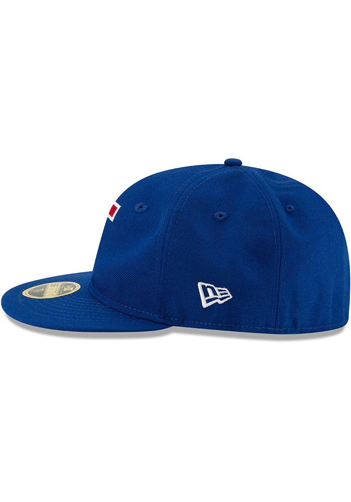 New Era Texas Rangers Mens Blue Sandlot 59FIFTY Fitted Hat - Image 4
