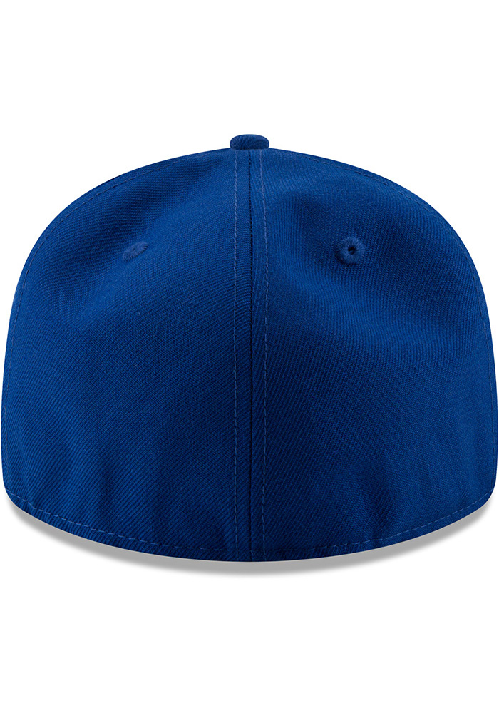 New Era Texas Rangers Mens Blue Sandlot 59FIFTY Fitted Hat - Image 5