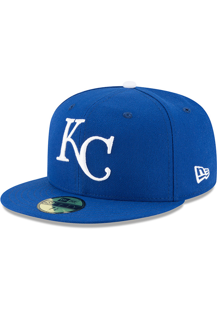 New Era Kansas City Royals Mens Blue 1969 AC 59FIFTY Fitted Hat - Image 1