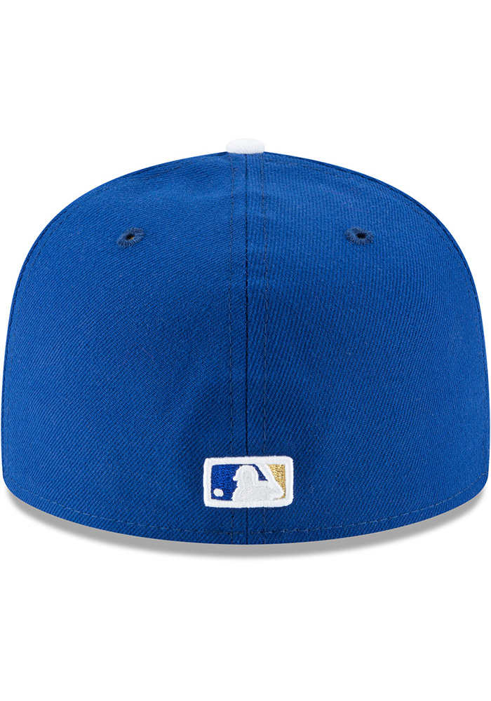 New Era Kansas City Royals Mens Blue 1969 AC 59FIFTY Fitted Hat - Image 5