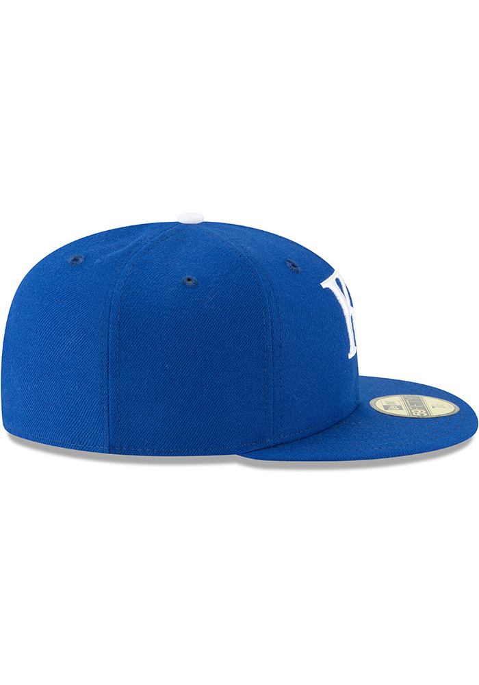 New Era Kansas City Royals Mens Blue 1969 AC 59FIFTY Fitted Hat - Image 6