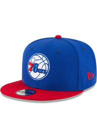 New Era Philadelphia 76ers Youth Blue Jr 2T 9FIFTY Snapback Hat