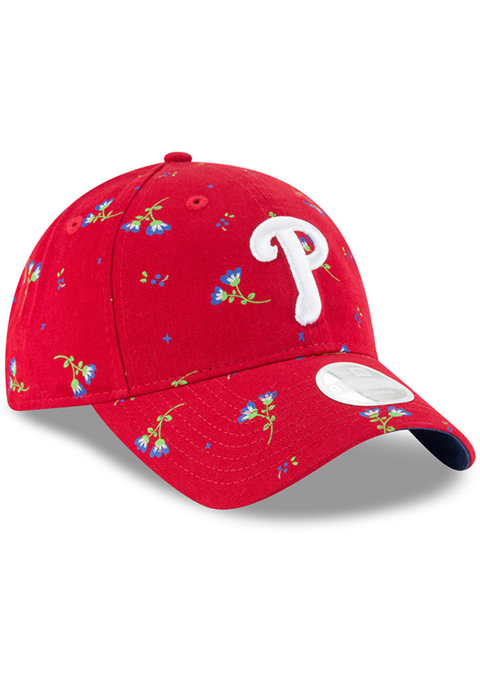 New Era Philadelphia Phillies Blue Blossom LS 9TWENTY Womens Adjustable Hat - Image 2