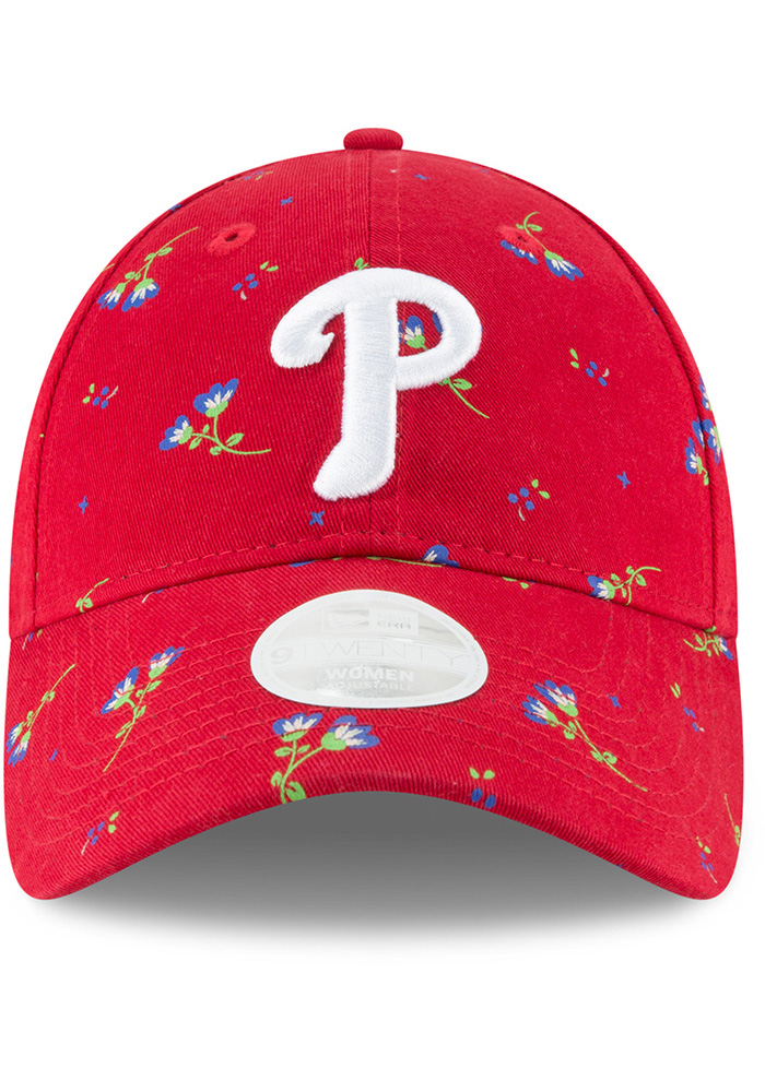 New Era Philadelphia Phillies Blue Blossom LS 9TWENTY Womens Adjustable Hat - Image 3