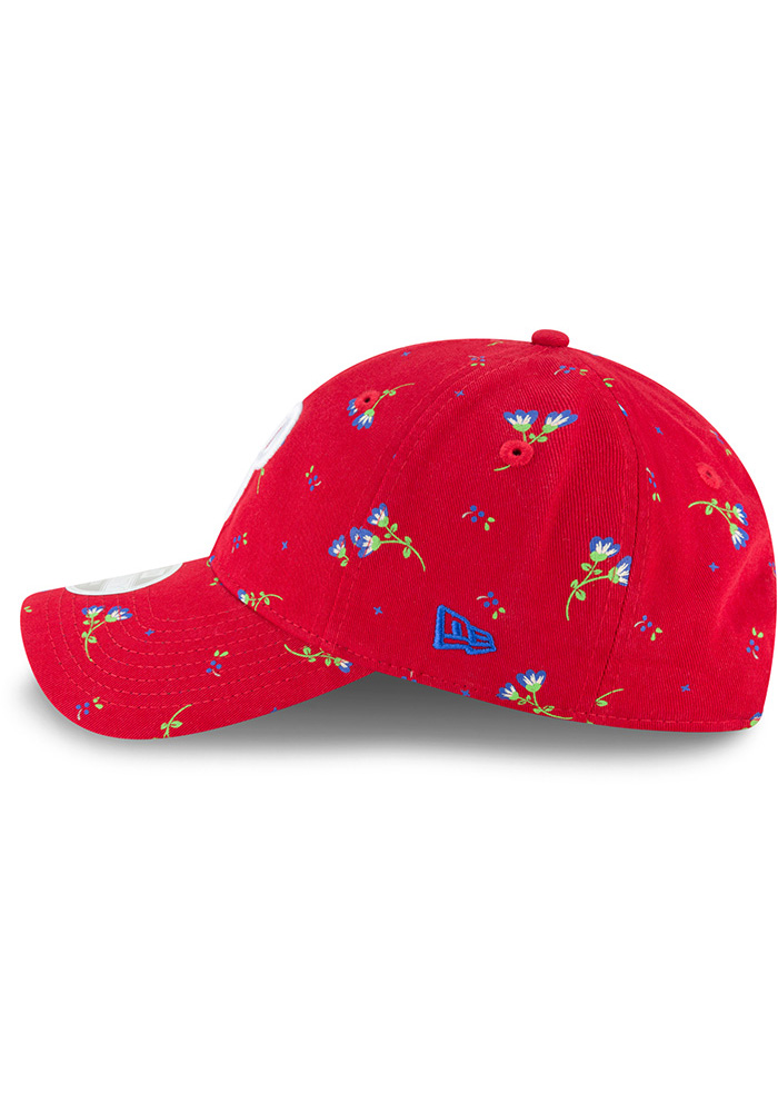 New Era Philadelphia Phillies Blue Blossom LS 9TWENTY Womens Adjustable Hat - Image 4