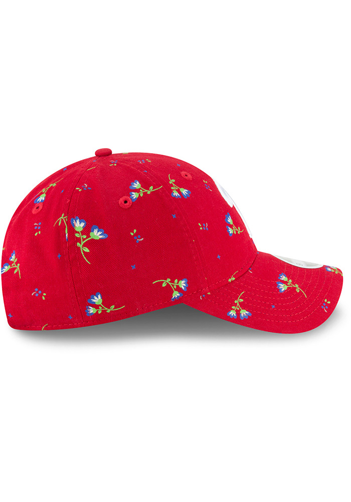 New Era Philadelphia Phillies Blue Blossom LS 9TWENTY Womens Adjustable Hat - Image 6
