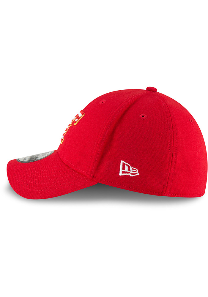 New Era Texas Rangers Mens Red 2018 4th of July 39THRITY Flex Hat - Image 4