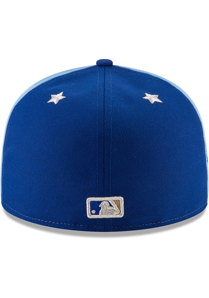 New Era Kansas City Royals Mens Blue 2018 All Star 59FIFTY Fitted Hat - Image 5