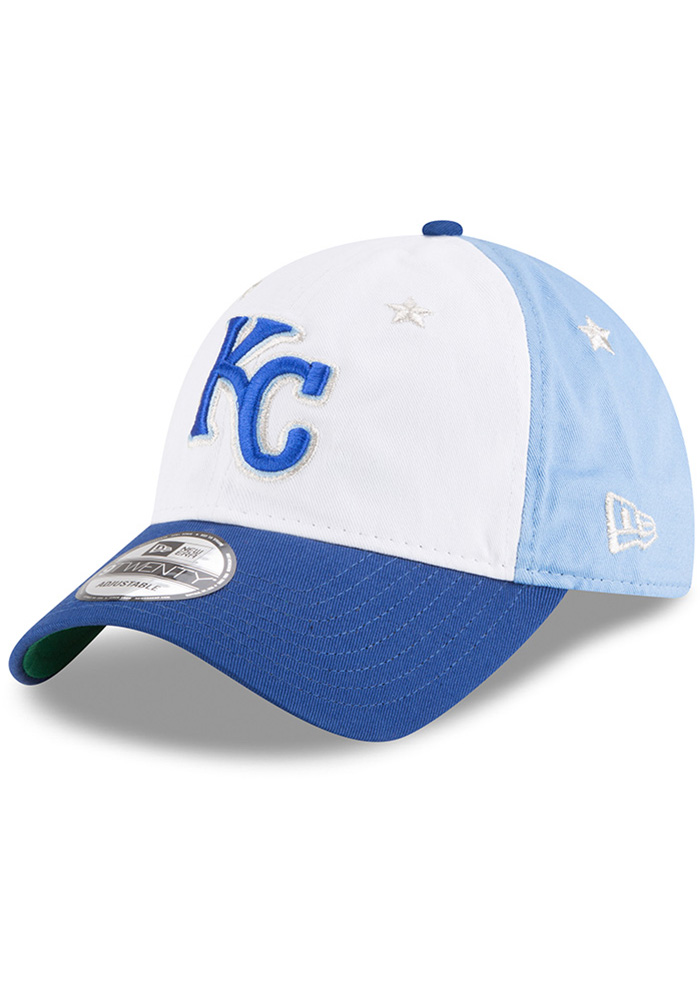 New Era Kansas City Royals 2018 All Star 9TWENTY Adjustable Hat - Blue - Image 1