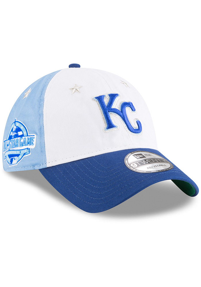 New Era Kansas City Royals 2018 All Star 9TWENTY Adjustable Hat - Blue - Image 2