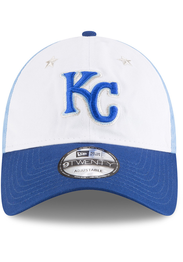 New Era Kansas City Royals 2018 All Star 9TWENTY Adjustable Hat - Blue - Image 3