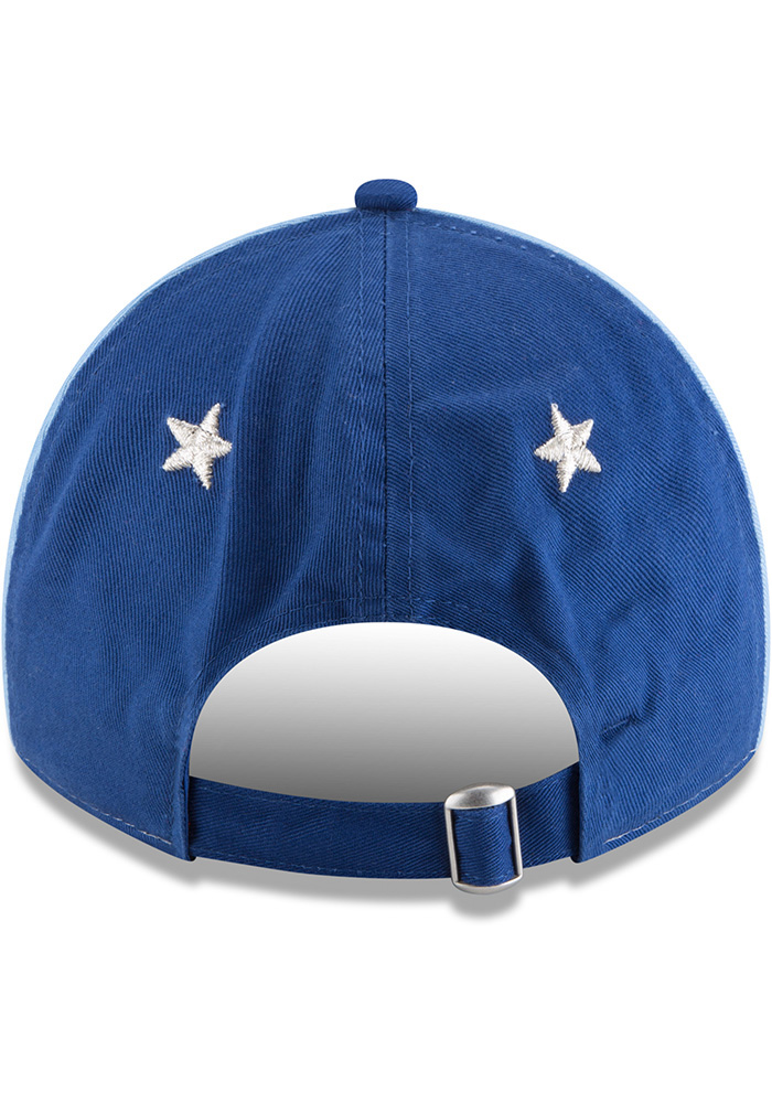 New Era Kansas City Royals 2018 All Star 9TWENTY Adjustable Hat - Blue - Image 5