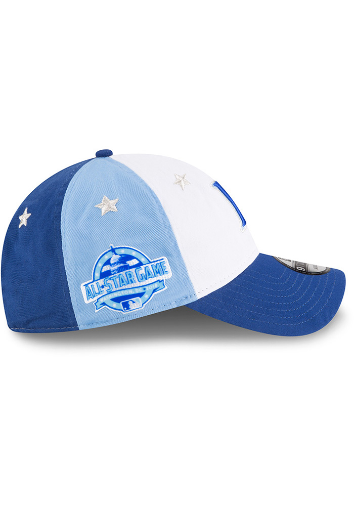 New Era Kansas City Royals 2018 All Star 9TWENTY Adjustable Hat - Blue - Image 6