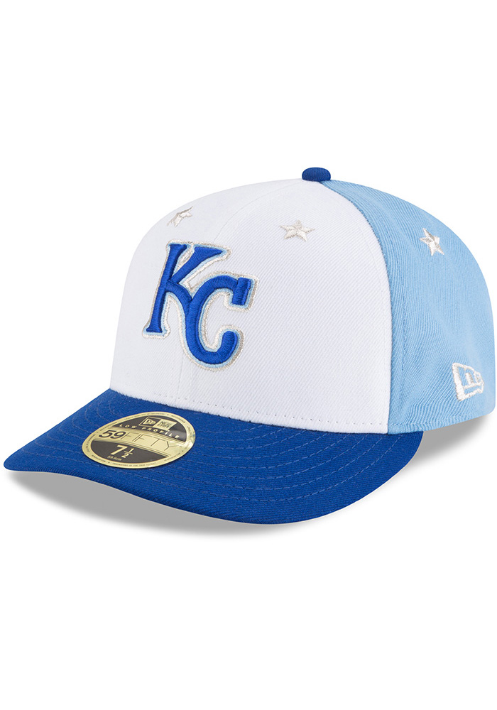 New Era Kansas City Royals Mens Blue 2018 All Star LP59FIFTY Fitted Hat - Image 1