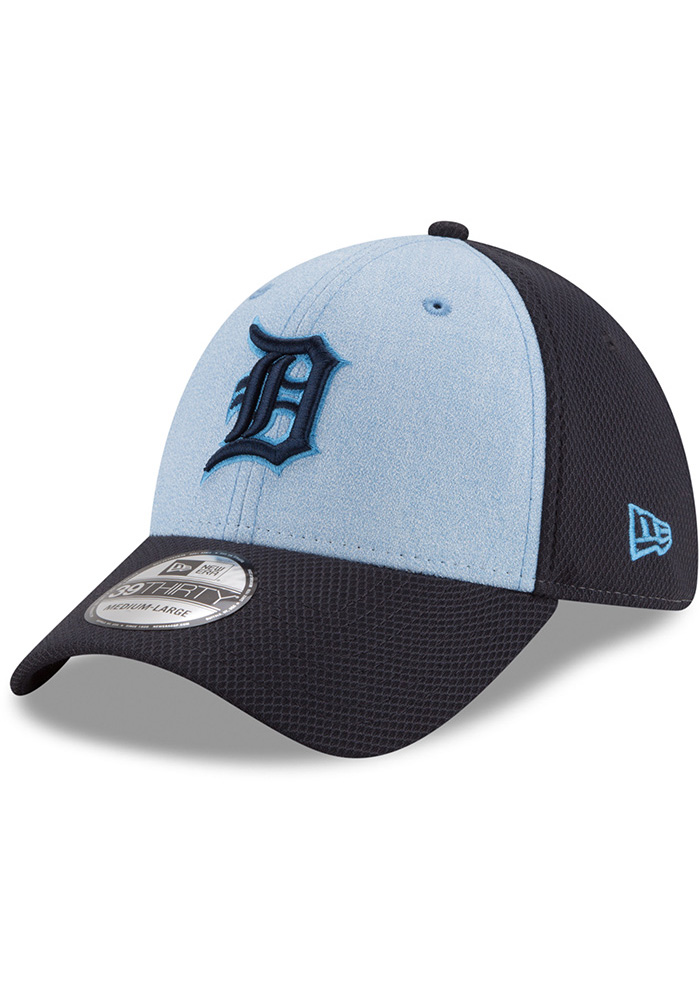 New Era Detroit Tigers Navy Blue 2018 Father s Day 39THRITY Flex Hat 4805161e10df