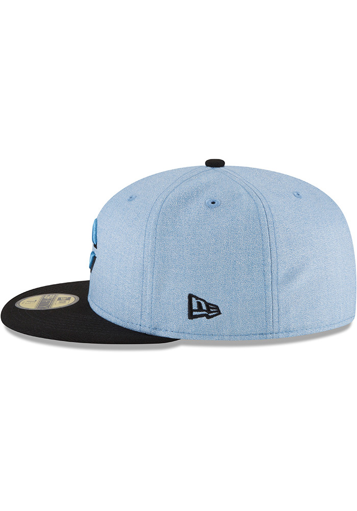 New Era Cincinnati Reds Mens Blue 2018 Father's Day 59FIFTY Fitted Hat - Image 4
