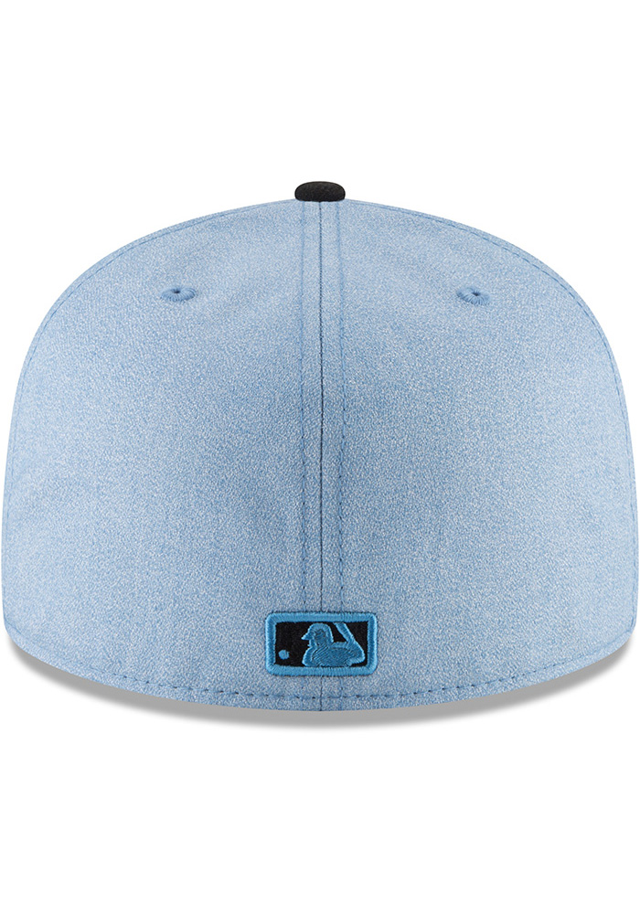 New Era Cincinnati Reds Mens Blue 2018 Father's Day 59FIFTY Fitted Hat - Image 5