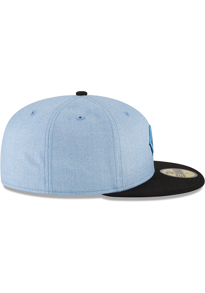 New Era Cincinnati Reds Mens Blue 2018 Father's Day 59FIFTY Fitted Hat - Image 6
