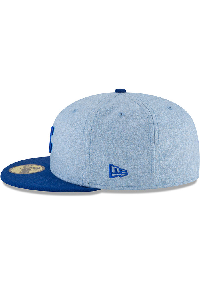 New Era Kansas City Royals Mens Blue 2018 Father's Day 59FIFTY Fitted Hat - Image 4