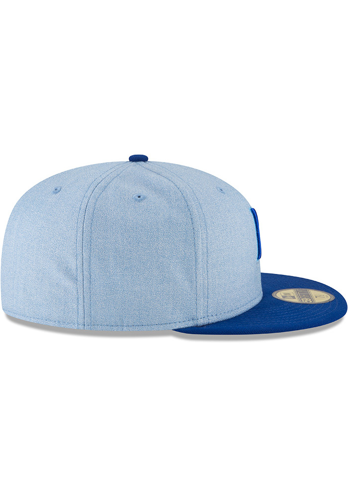 New Era Kansas City Royals Mens Blue 2018 Father's Day 59FIFTY Fitted Hat - Image 6