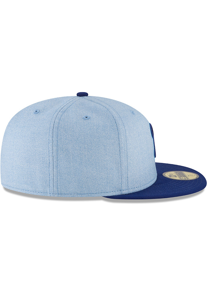 wholesale dealer 7b3e8 24c8a New Era Philadelphia Phillies Mens Blue 2018 Father s Day 59FIFTY Fitted Hat  - Image 6