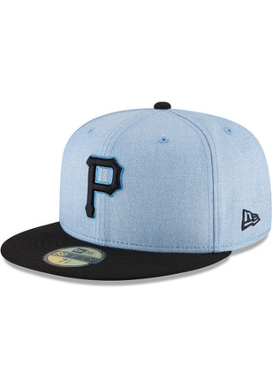 Pittsburgh Pirates New Era Blue 2018 Father s Day 59FIFTY Fitted Hat aea7f3e52ebb