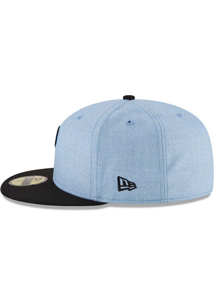 New Era Pittsburgh Pirates Mens Blue 2018 Father's Day 59FIFTY Fitted Hat - Image 4
