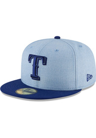 Texas Rangers New Era Blue 2018 Fathers Day 59FIFTY Fitted Hat