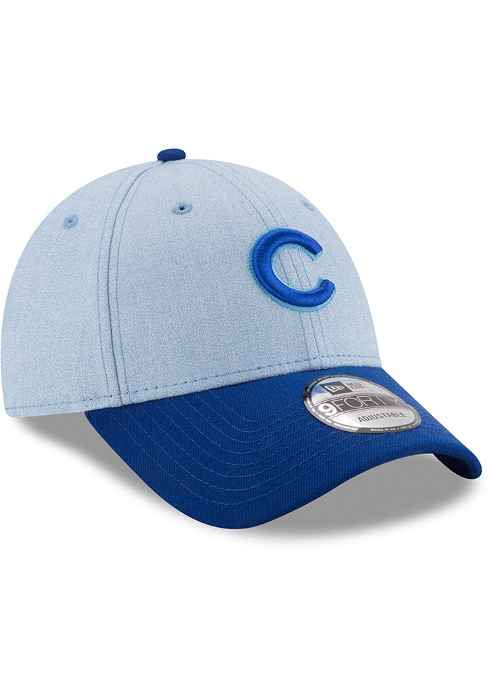 competitive price a33f2 da157 New Era Chicago Cubs 2018 Father s Day 9FORTY Adjustable Hat - Blue - Image  2