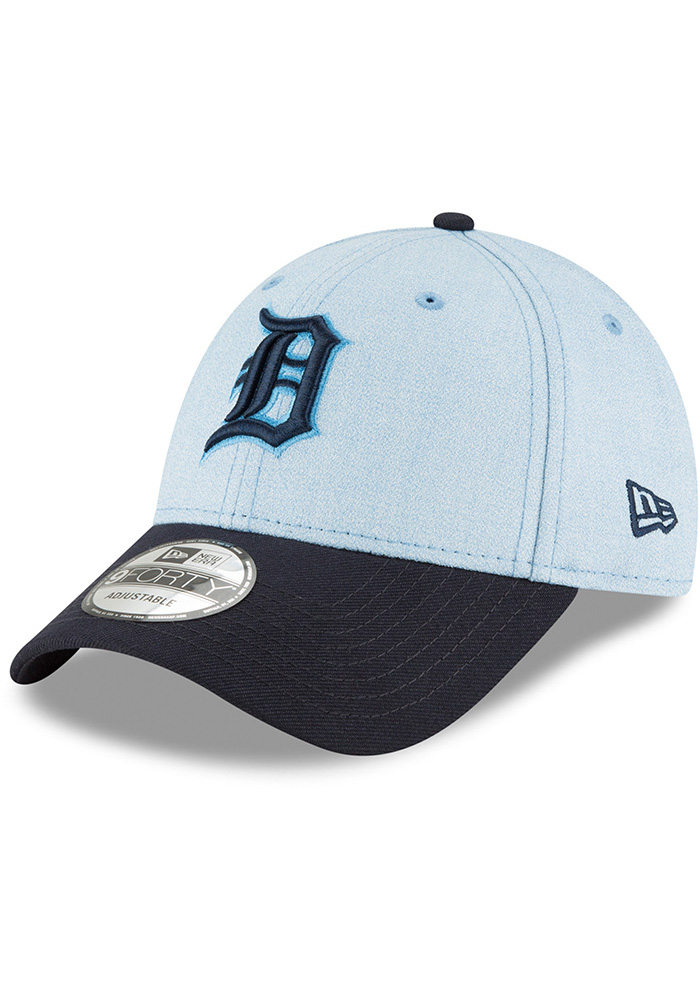 New Era Detroit Tigers Blue 2018 Father s Day 9FORTY Adjustable Hat cfd127cd749e