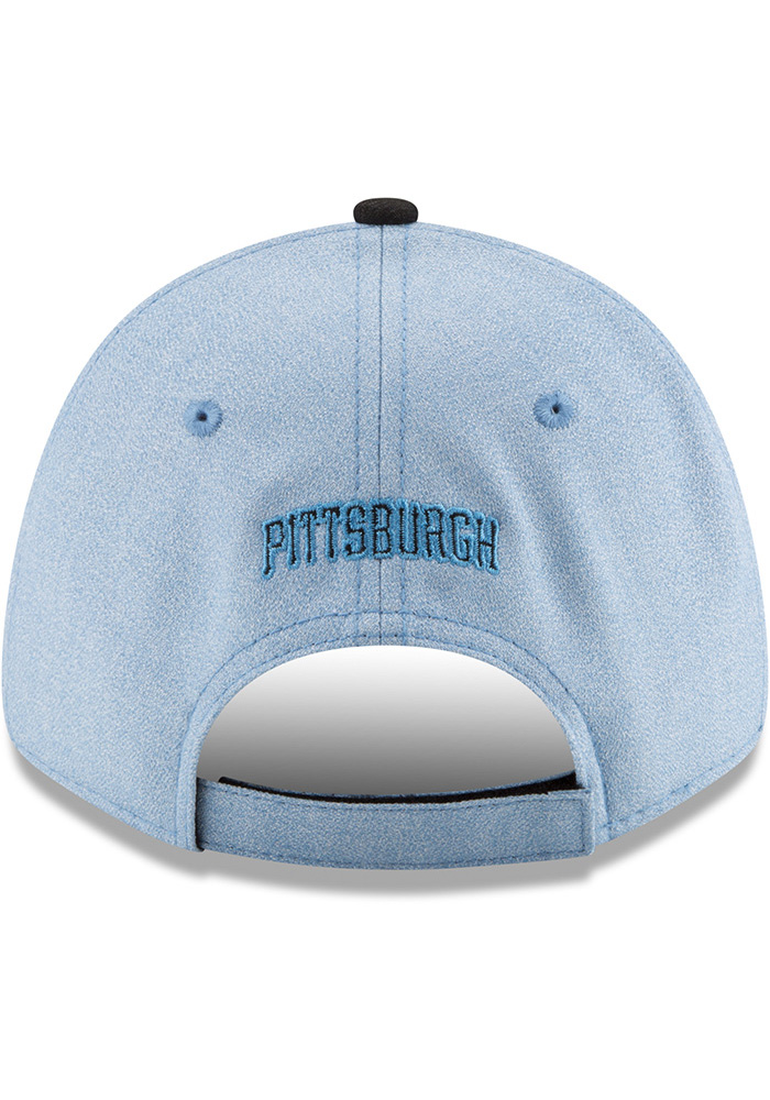 New Era Pittsburgh Pirates 2018 Father's Day 9FORTY Adjustable Hat - Blue - Image 5