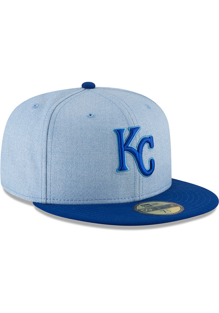 New Era Kansas City Royals Blue 2018 Fathers Day Jr 59FIFTY Youth Fitted Hat - Image 2