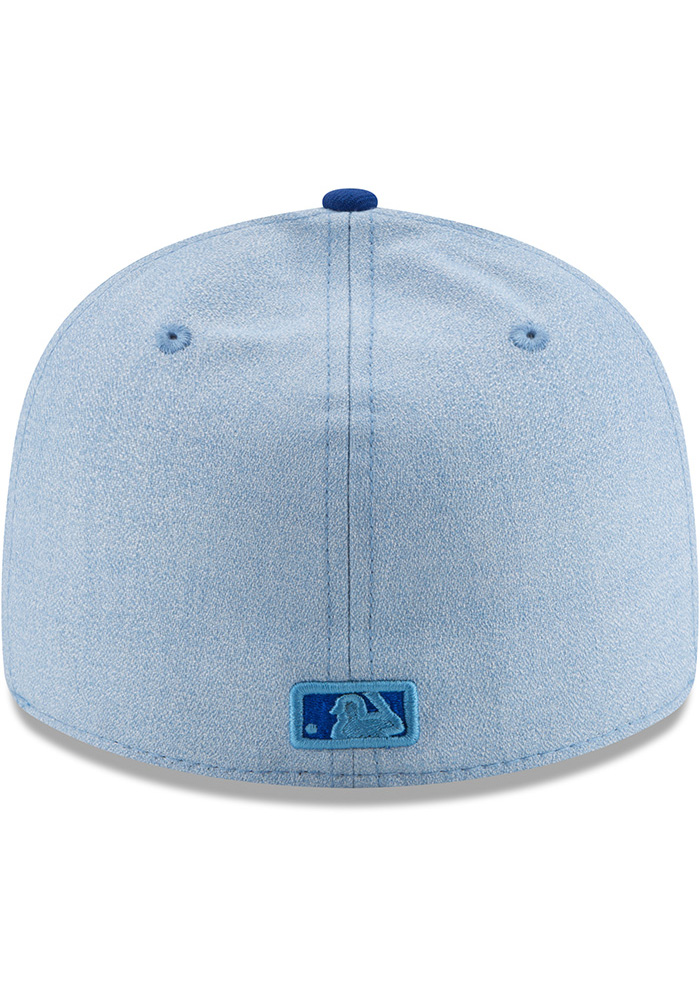 New Era Kansas City Royals Mens Blue 2018 Father's Day LP59FIFTY Fitted Hat - Image 5