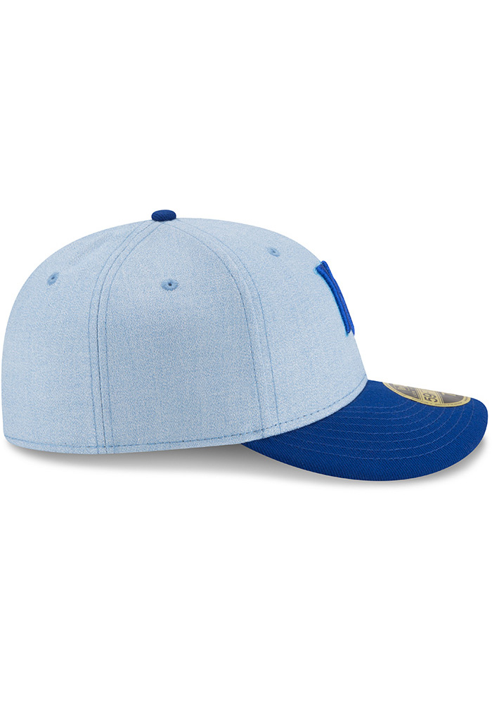 New Era Kansas City Royals Mens Blue 2018 Father's Day LP59FIFTY Fitted Hat - Image 6