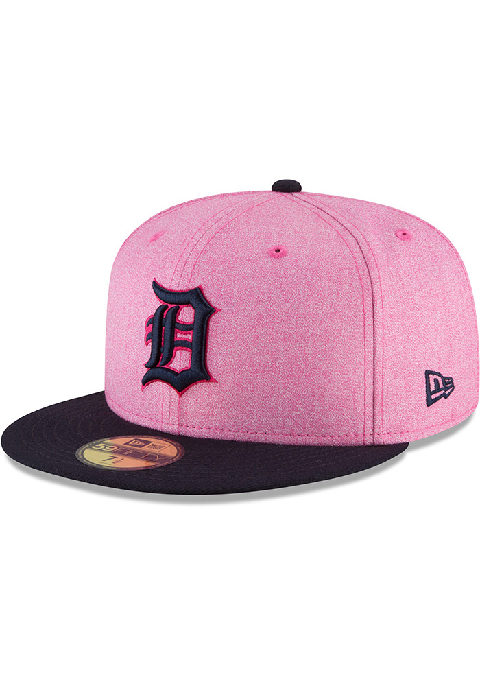 info for united kingdom special sales New Era Detroit Tigers Mens Pink 2018 Mother's Day 59FIFTY Fitted ...